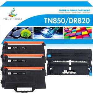 DR820 Drum TN850 Toner Compatible For Brother MFC-L6700DW MFC-L5850DW HL-L6200DW