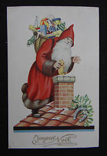 Carte postale JOYEUX NOEL Père XMAS Christmas SANTA CLAUS postcard Postkarte 3