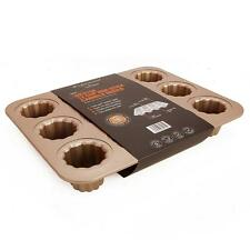 WK9158 Chefmade,12 cup non-stick cannele mould pan,Champagne