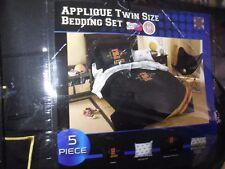 NCAA San Diego Aztecs APPLIQUE Twin 5 PC Comforter Set