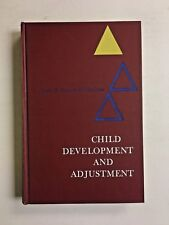 Child Development and Adjustment Study of Child Psychology 1966 Crow Hardcover