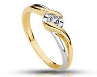 14k Verlobungring, Diamant Ring 585, Gold Ring, 3 Varianten, Diamant 2,8 mm