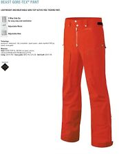 NEW Dynafit Beast GTX Pant Mens Large Orange Goretex Ski Pants Msrp$450