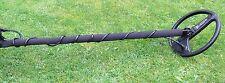 blancs trésor Maître -Métal détecteur- Paire de tige couvercles noir néoprène