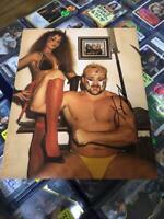 Kevin Sullivan Pose 1 Signed Photo 8x10 Auto Autograpgh WWE WCW COA