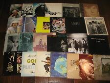 Lot of 3 Rock Record Mix Original Beatle Zeppelin Stones Dylan Doors Who Kiss VG