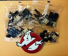 Ghostbusters Mini Figure Set (4) & free Logo patch