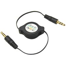 3.5mm Retractable Aux Line in Jack Audio Car Cable Sound Lead for iPhone iPod MP