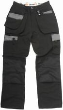 Durakit SECONDS Black Trousers W40