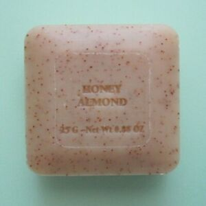 Pre de Provence Honey Almond French Milled Shea Butter Guest Bar Soap Gift 25g