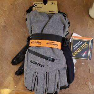 Burton gore tex gloves w/touch screen liner sz XL
