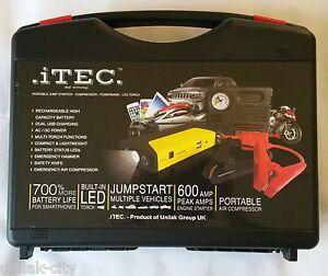 Power bank & Jump Starter Portable  Multi-functional Full Kit -.iTEC.