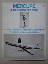 9/1972 PUB AVIONS MARCEL DASSAULT MERCURE AIRCRAFT AIR INTER ORIGINAL FRENCH AD