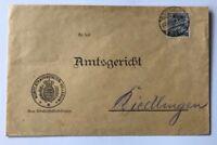 Württemberg Dienstbrief Strafanstalten Collegium Stuttgart nach Riedlingen