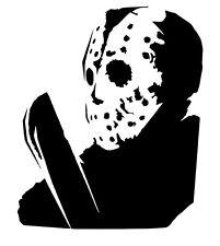 Jason vinyl car Decal / Sticker