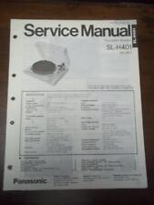 Panasonic Service Manual für SL-H401 Plattenspieler ~ Reparatur ~ Original