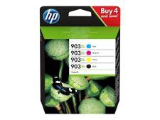Cartuccia HP 903xl - confezione da 4 - alta resa - nero, giallo, ciano, magenta