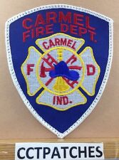 CARMEL, INDIANA FIRE DEPARTMENT PATCH IN