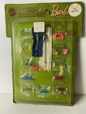 VTG 1970 Barbie Teen Fashion Paks Beads Zippers Buckle In Sealed Package NOS