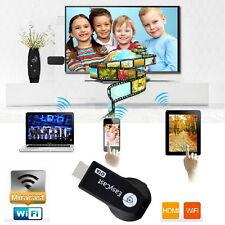 1080P HDMI TV Dongle Wireless WIFI Transmitter HD TV Internet Media Player Black