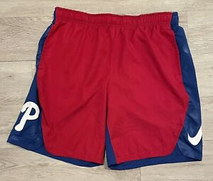 Mens Nike Philadelphia Phillies Authentic Collection Performance Shorts  SIZE XL
