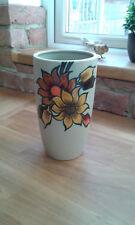 Vintage Flora Gouda Holland pottery Vase - Aster No 1512