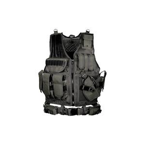 UTG V568BT Law Enforcement Tactical Vest Black w/ Holster