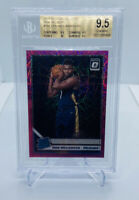 2019-20 OPTIC ZION WILLIAMSON #158 PINK VELOCITY PRIZM 58/79 RC/BGS 9.5 GEM PSA
