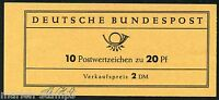 GERMANY MICHEL# MH 9 COMPLETE UNEXPLODED BOOKLET MINT NEVER HINGED AS SHOWN II