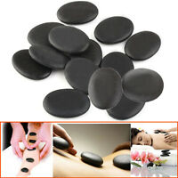 12pcs /set Hot Stone Massage Basalt Rocks 3*4cm Size Therapy Stone Pain Relief