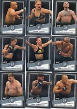 2017 TOPPS UFC CHROME MUSEUM COLLECTION INSERT SET 25 CARDS CONOR McGREGOR GSP