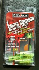 Parker Red Hot Crossbow Lighted Capture Nocks Green 3 Pack Powered By Lumenok