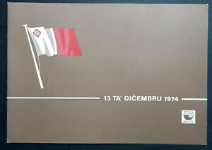 1975 Republic of Malta - Presentation folder + SHC