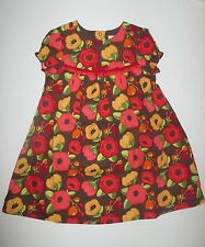 Gymboree Adorable Owl Flower Floral Dress Baby Girls 18-24 months NEW NWT