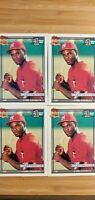Carl Everett 1991 Topps #1 Drafy Pick Rookie Card Lot #113 New York Yankees