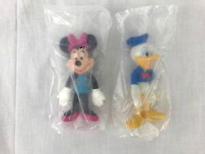 Walt Disney World Kellogg's Bendin' Friends Lot Minnie Mouse Donald Duck Figures