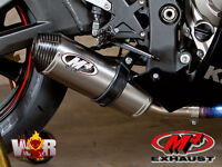 M4 Street Slayer Titanium 2011 2012 2013 2014 2015 Kawasaki ZX10R Exhaust