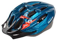 Reebok Fahrradhelm für Erwachsene blau 58-61 RCA1-10005