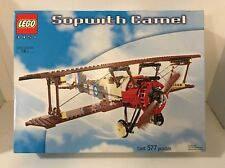 New LEGO 3451 Sopwith Camel Biplane Plane Set 577 Pieces Building Toy 2001