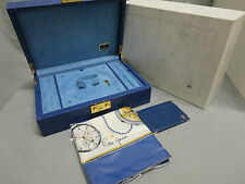 Rolex Genuine Vintage Crown Collection Jewelry Box With Scarf