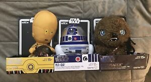 Star Wars 7 Inch Plush Set New Pins Not Included