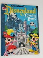 Walt Disney's Disneyland Coloring Book Whitman 1965 Vintage Mickey Mouse Club