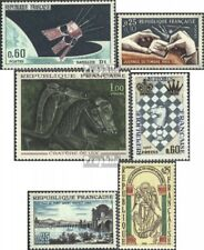 Frankrijk 1539,1540,1541,1542, 1543,1544 postfris 1966 Speciale postzegels