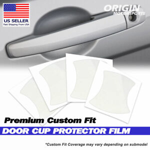 Anti Scratch Door Handle Cup Protector Cover for 2009-2012 Audi A4 & S4