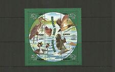 ROMANIA SGMS6389 WATER BIRDS  MINISHEET  MNH