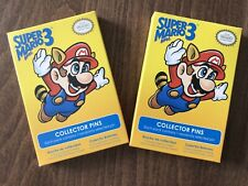 Officially Licensed Super Mario Bros 3 Pin - Nintendo Club. 2 x Sealed Packs