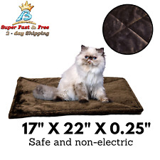 Self-Warming Cat Bed Pad Thermal Blanket Mat Quilted Cat Bed Pad For Dogs Cats