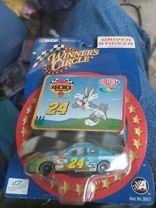 Jeff Gordon Winners Circle The Looney Tunes Nascar #24 Driver Sticker Series C5