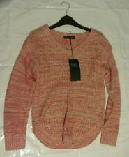Womens Marks And Spencer Knitwear Red Jumper Size 8 BNWT