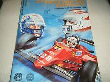 NEDERLAND DUTCH GRAND PRIX GP 1984 PROGRAMME NIKI LAUDA AYRTON SENNA PROST F1